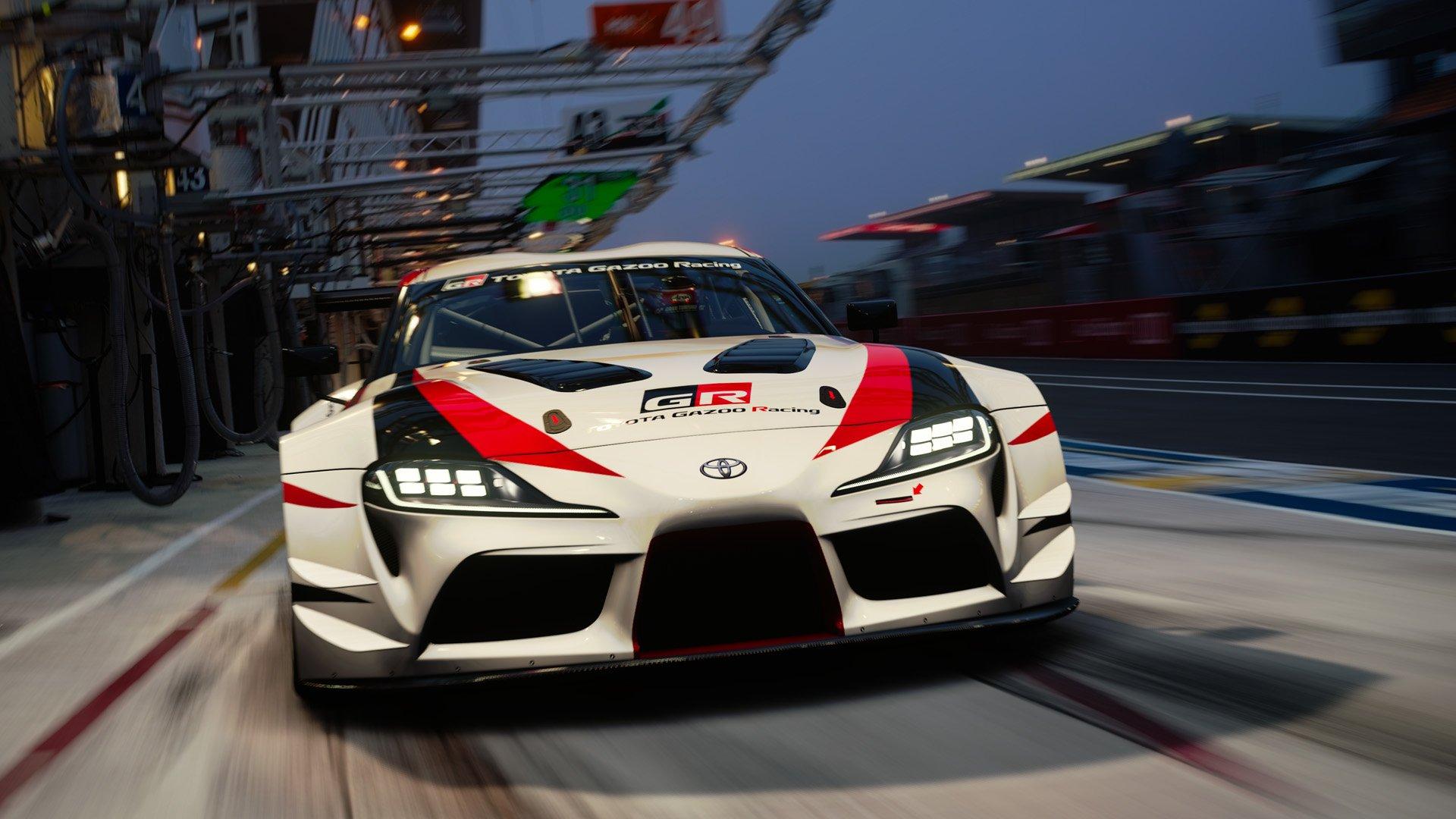 Gran Turismo Sport April update Toyota GR Supra Racing Concept 1