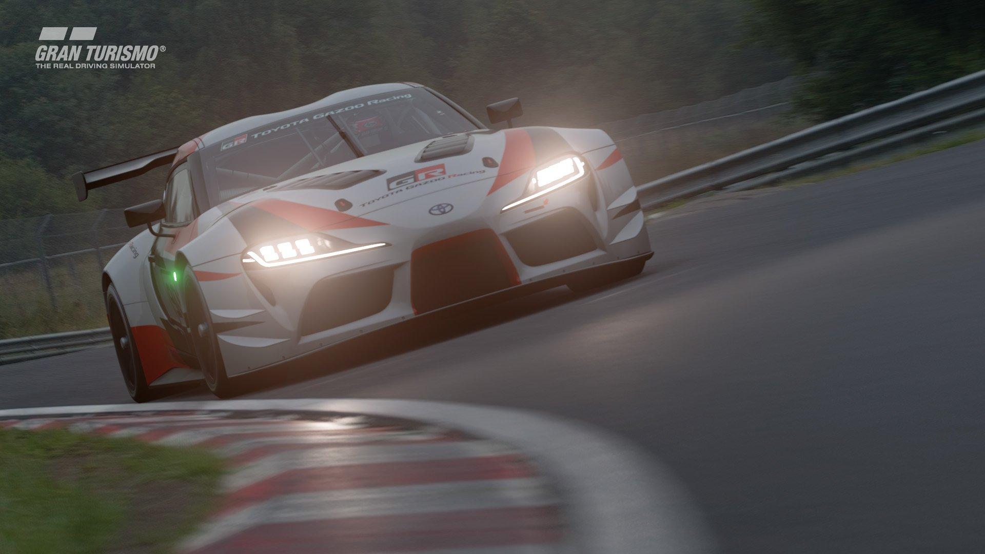 Gran Turismo Sport April update Toyota GR Supra Racing Concept 3