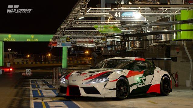 Gran Turismo Sport April update Toyota GR Supra Racing Concept 5