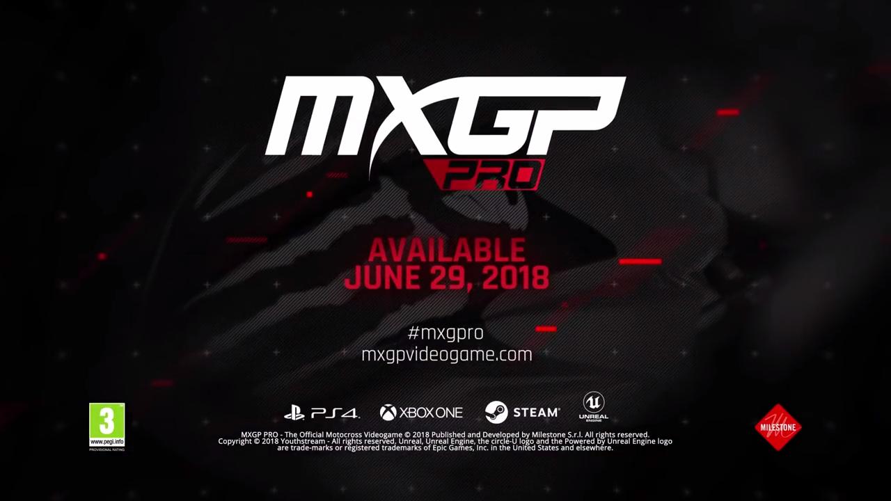 MXGP Pro release date banner