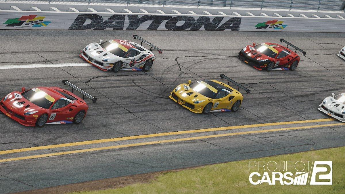 Project CARS 2 Ferrari 488 Challenge Daytona