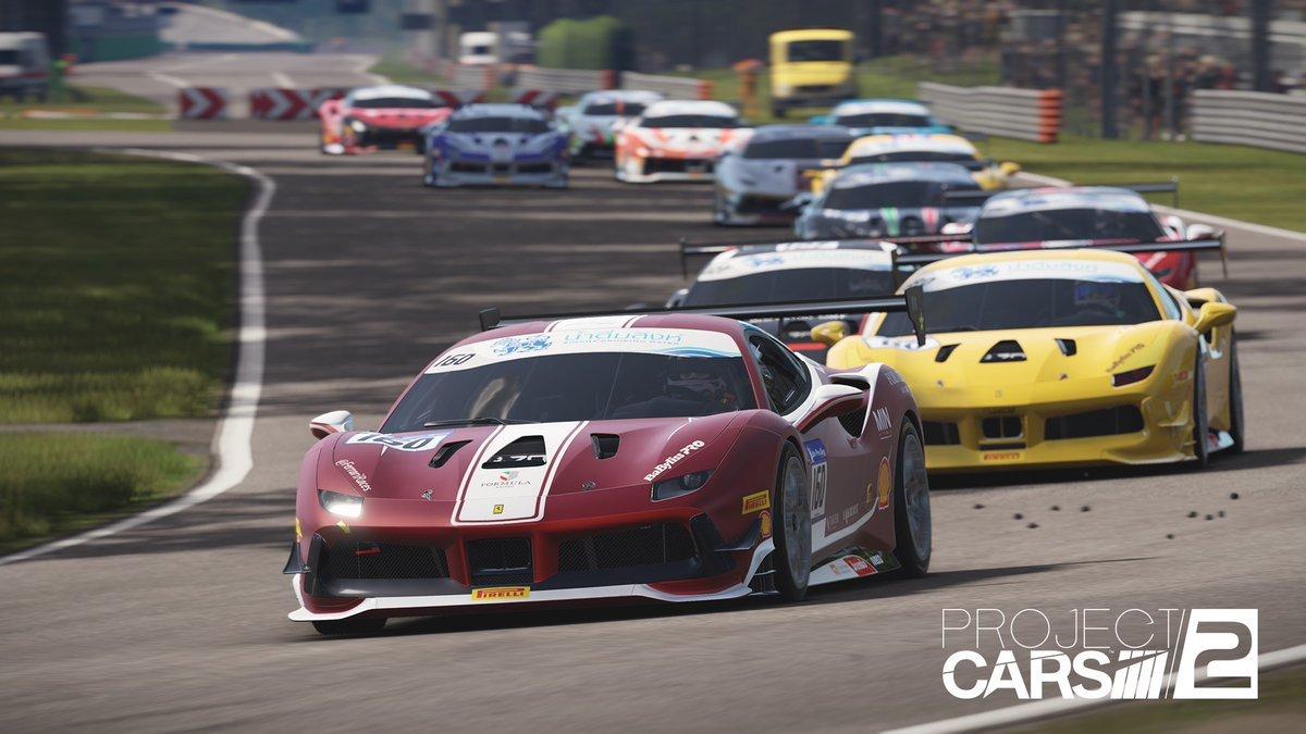Project CARS 2 Ferrari 488 Challenge Monza