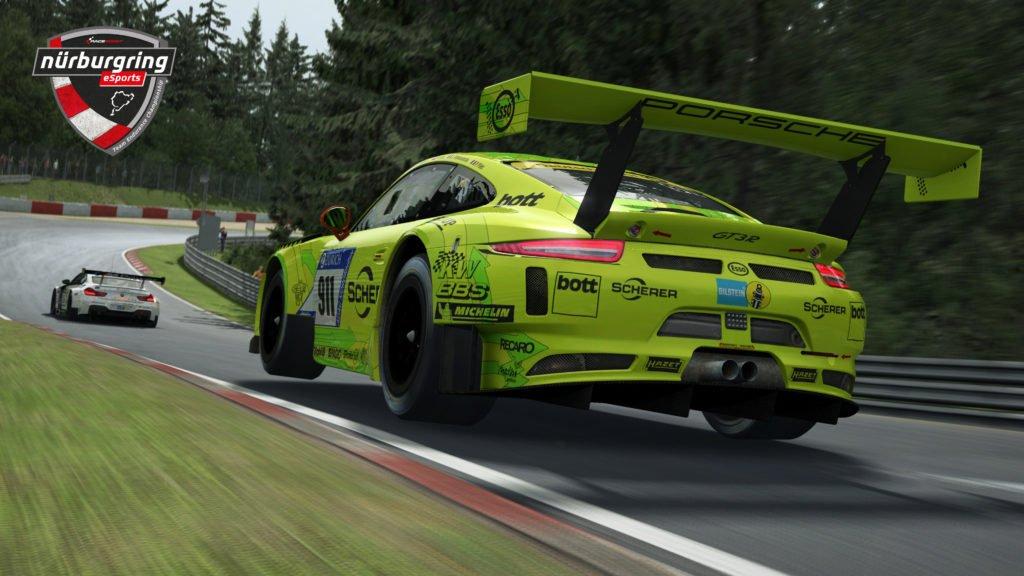 RaceRoom Nurburgring eSports Team Endurance Championship Porsche 911 GT3 air time