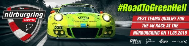RaceRoom Nurburgring eSports Team Endurance Championship banner