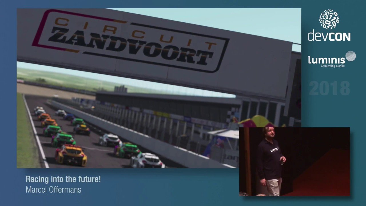 Racing into the Future Marcel Offermans rFactor 2 talk thumbnail