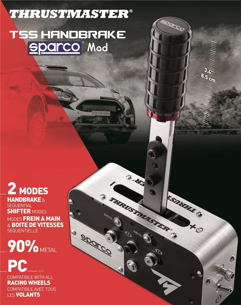 Thrustmaster TSS Handbrake Sparco Mod box