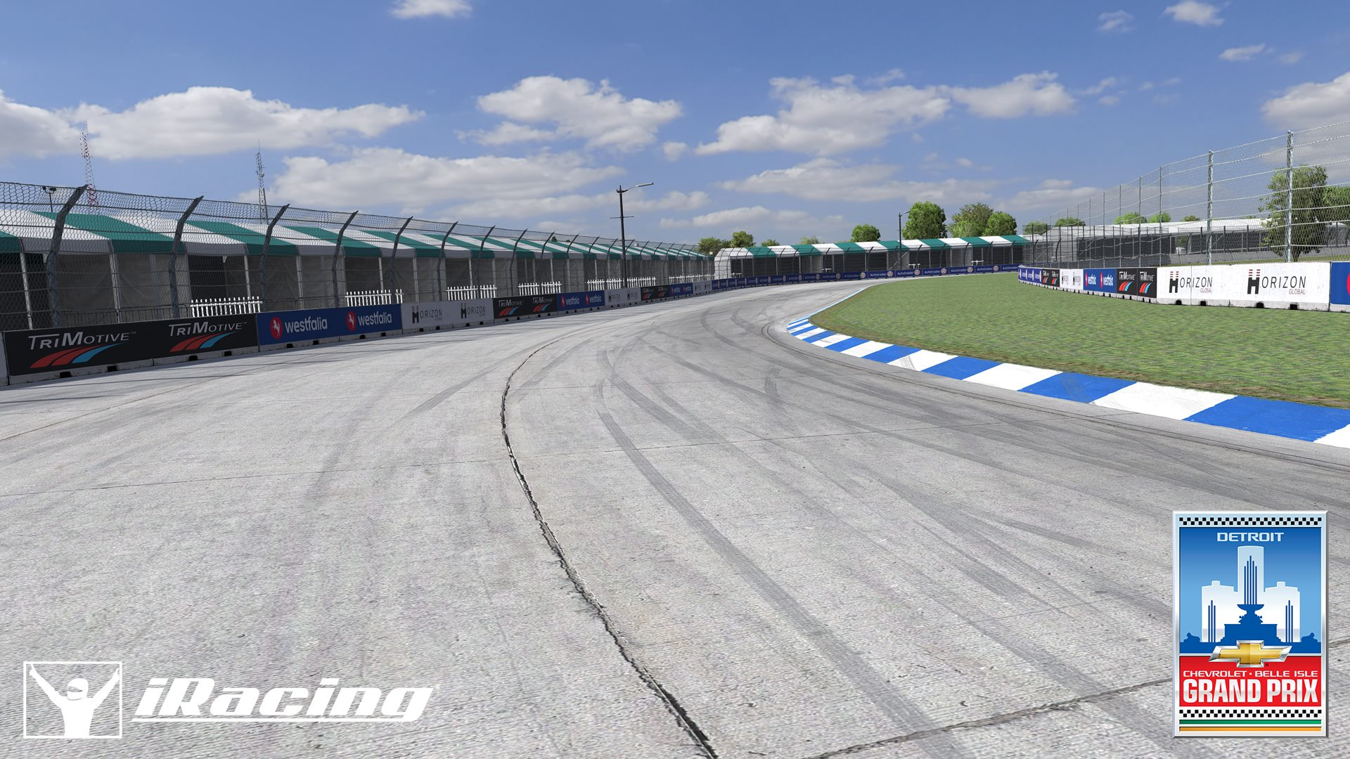 iRacing Belle Isle Circuit preview 3