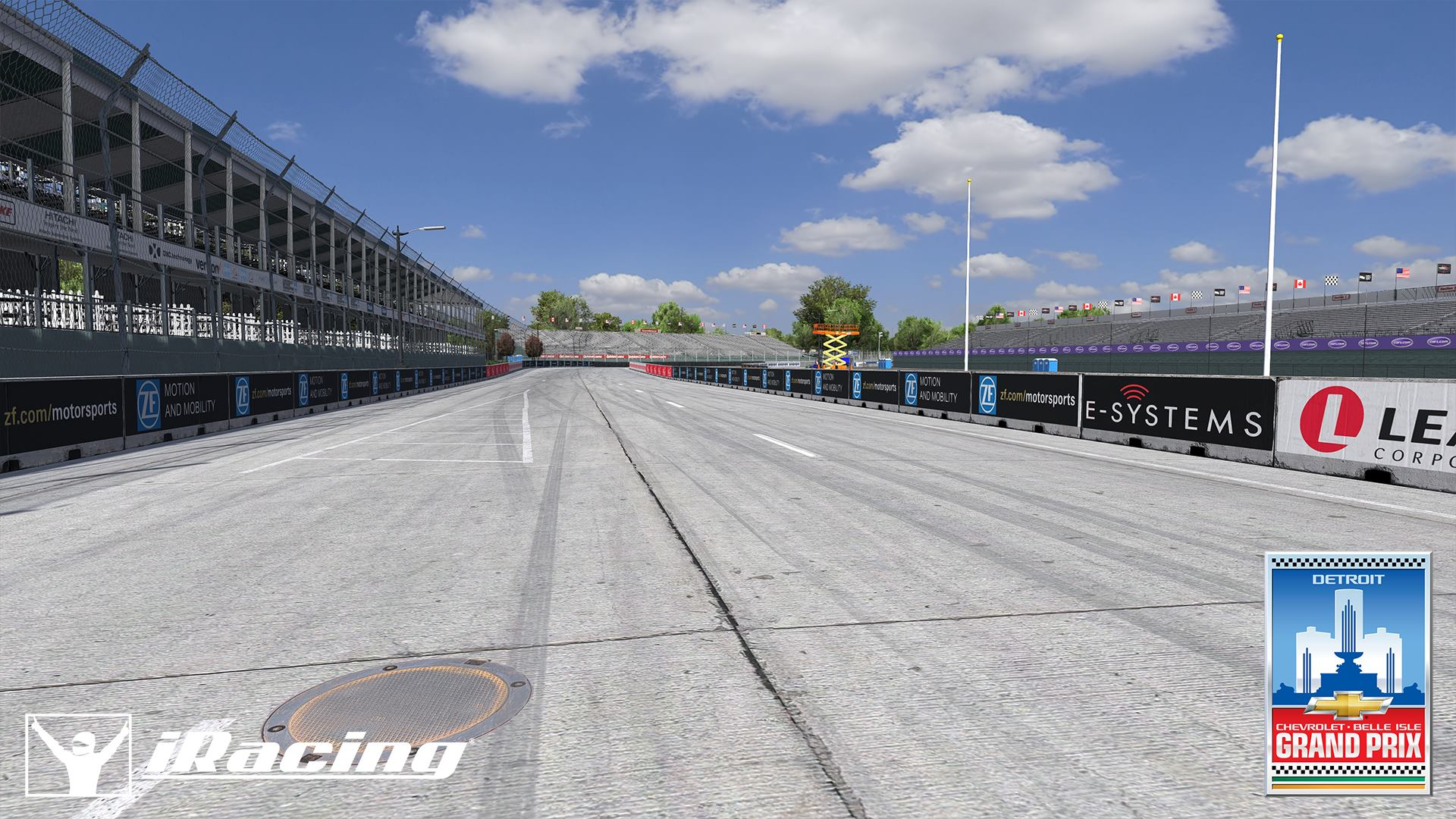 iRacing Belle Isle Circuit preview 6