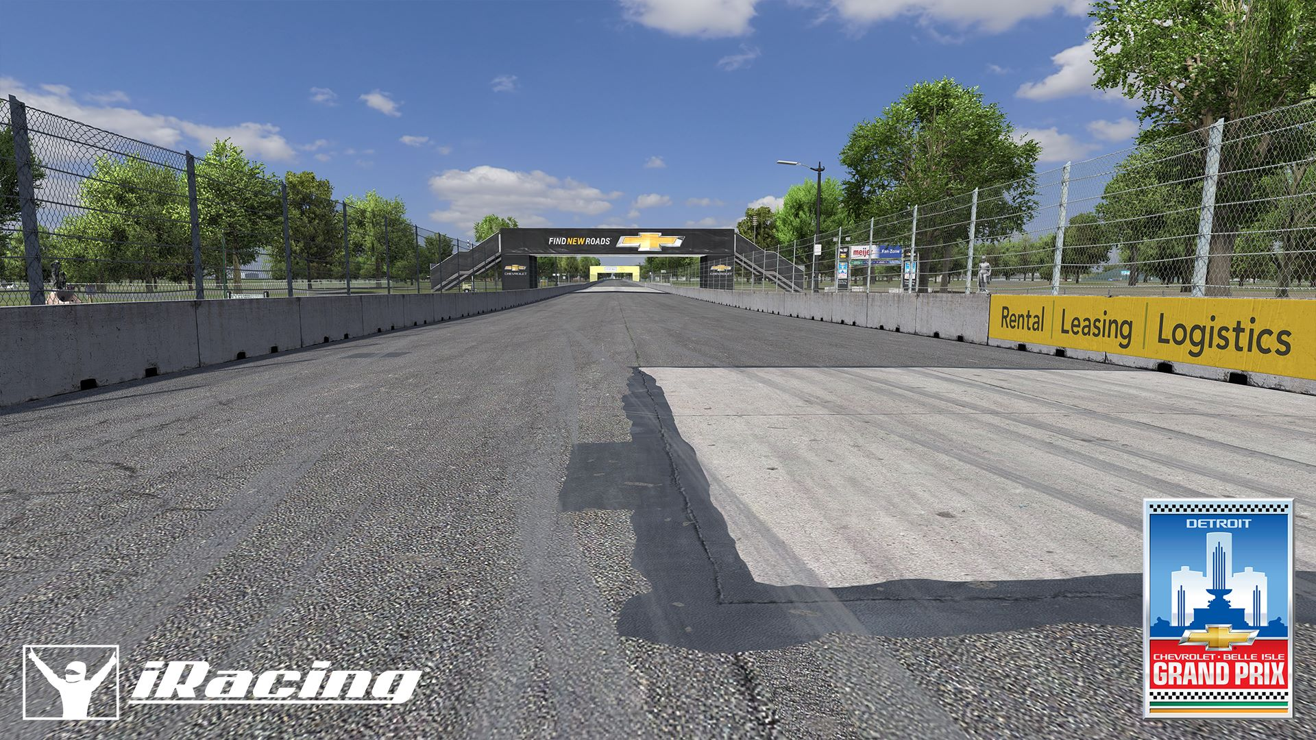 iRacing Belle Isle Circuit preview 7