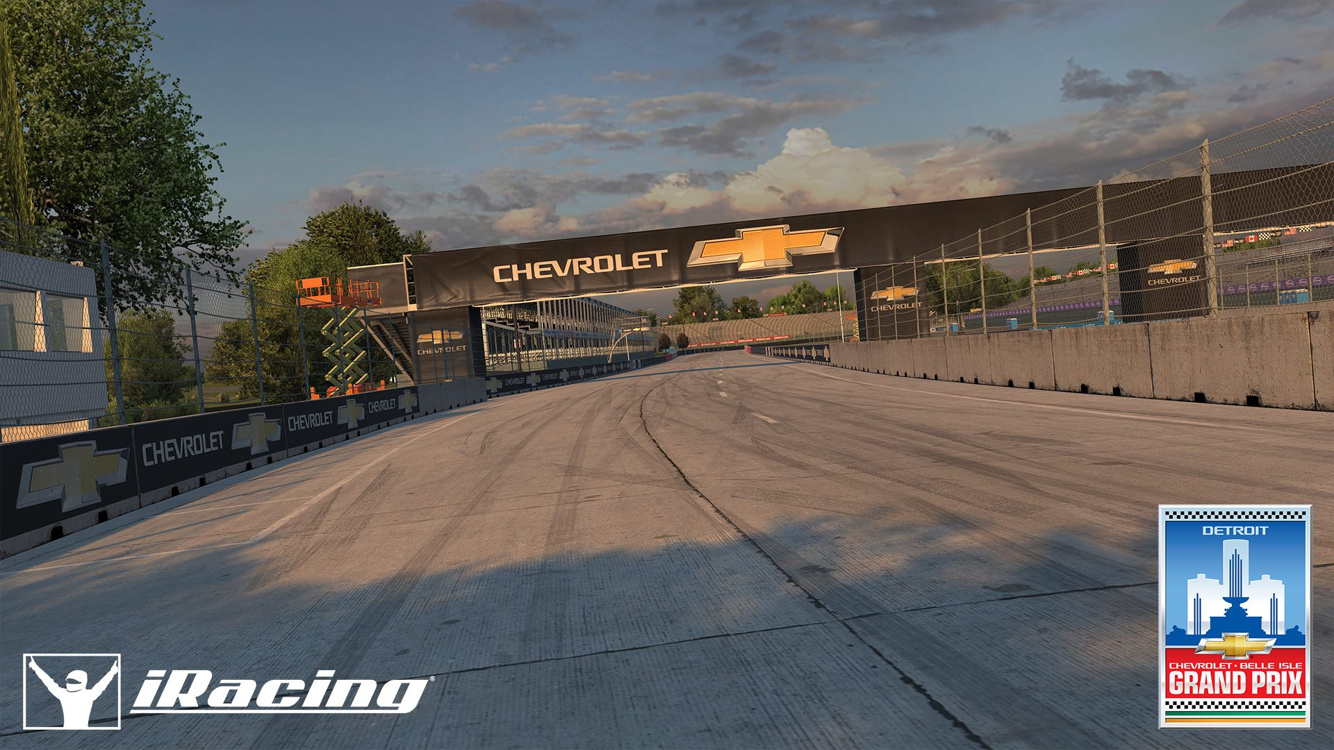 iRacing Belle Isle Circuit preview 8