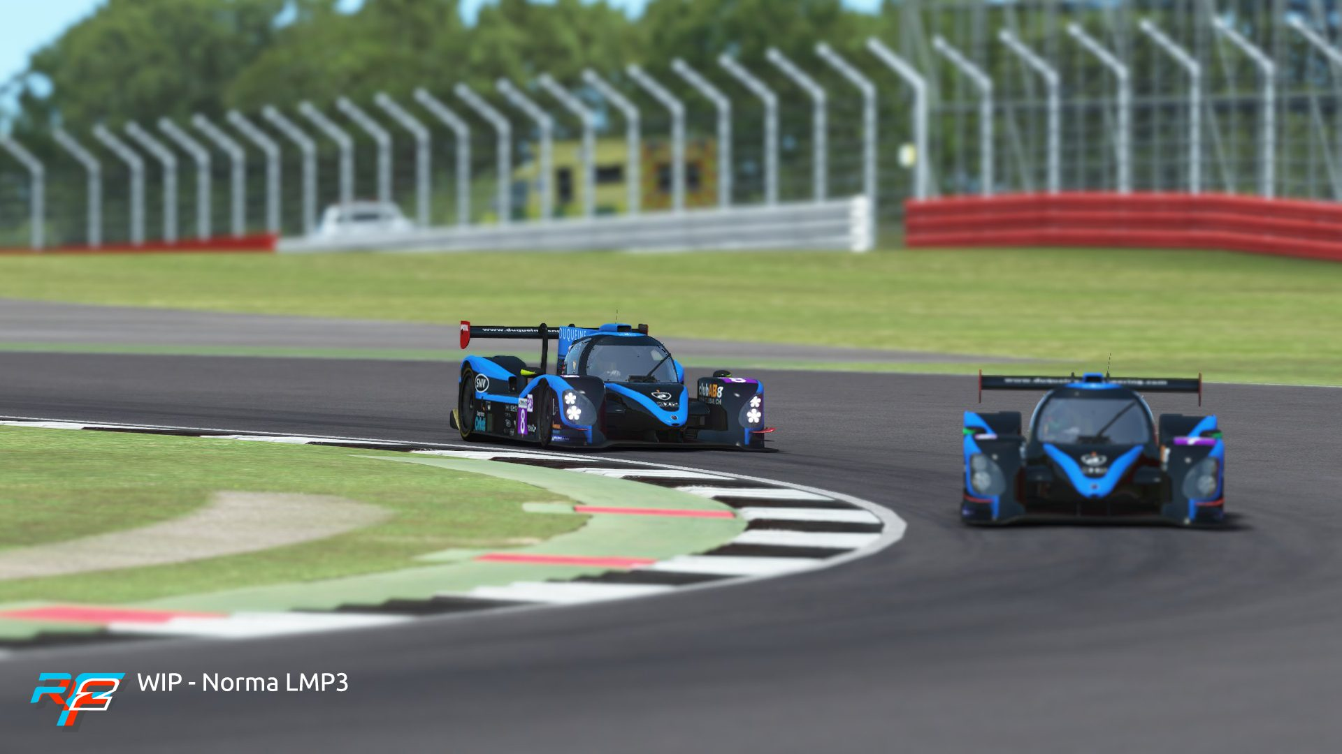 rFactor 2 April roadmap update Norma M30 LMP3 preview 2