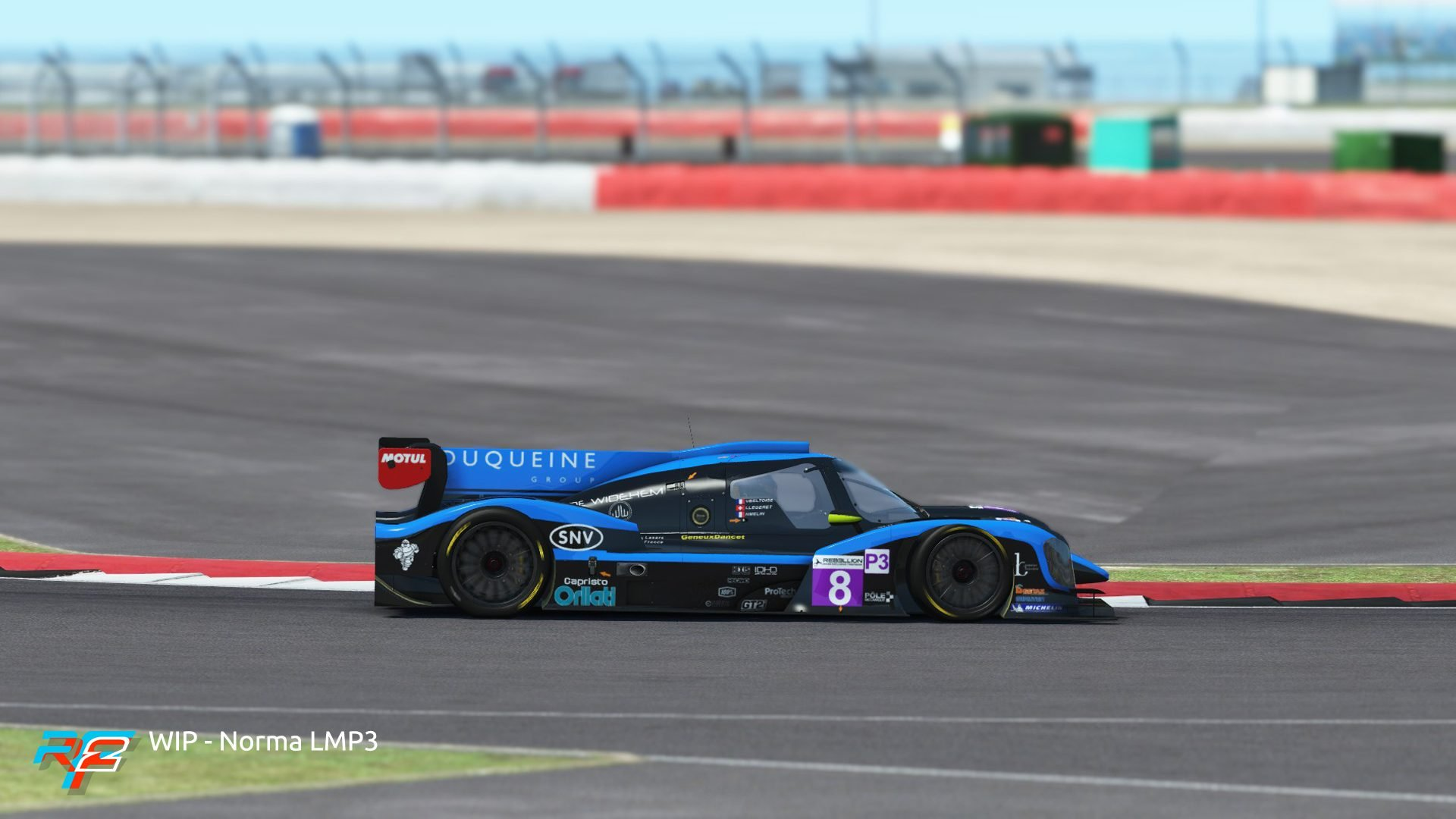 rFactor 2 April roadmap update Norma M30 LMP3 preview 4