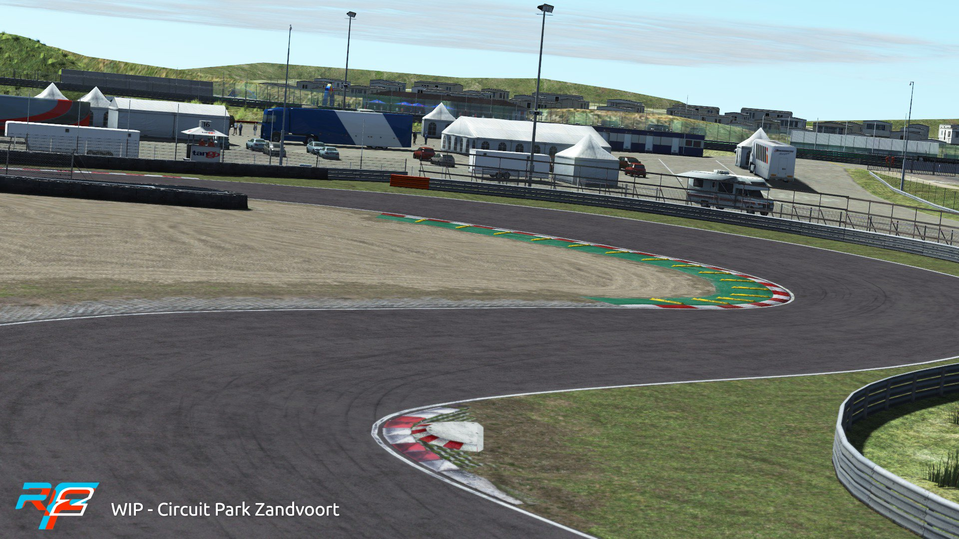 rFactor 2 March rodmap Zandvoort preview 1