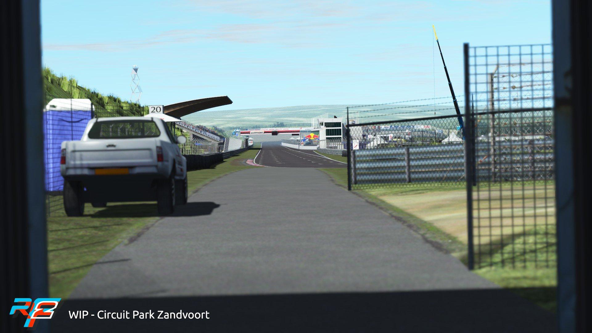 rFactor 2 March rodmap Zandvoort preview 5