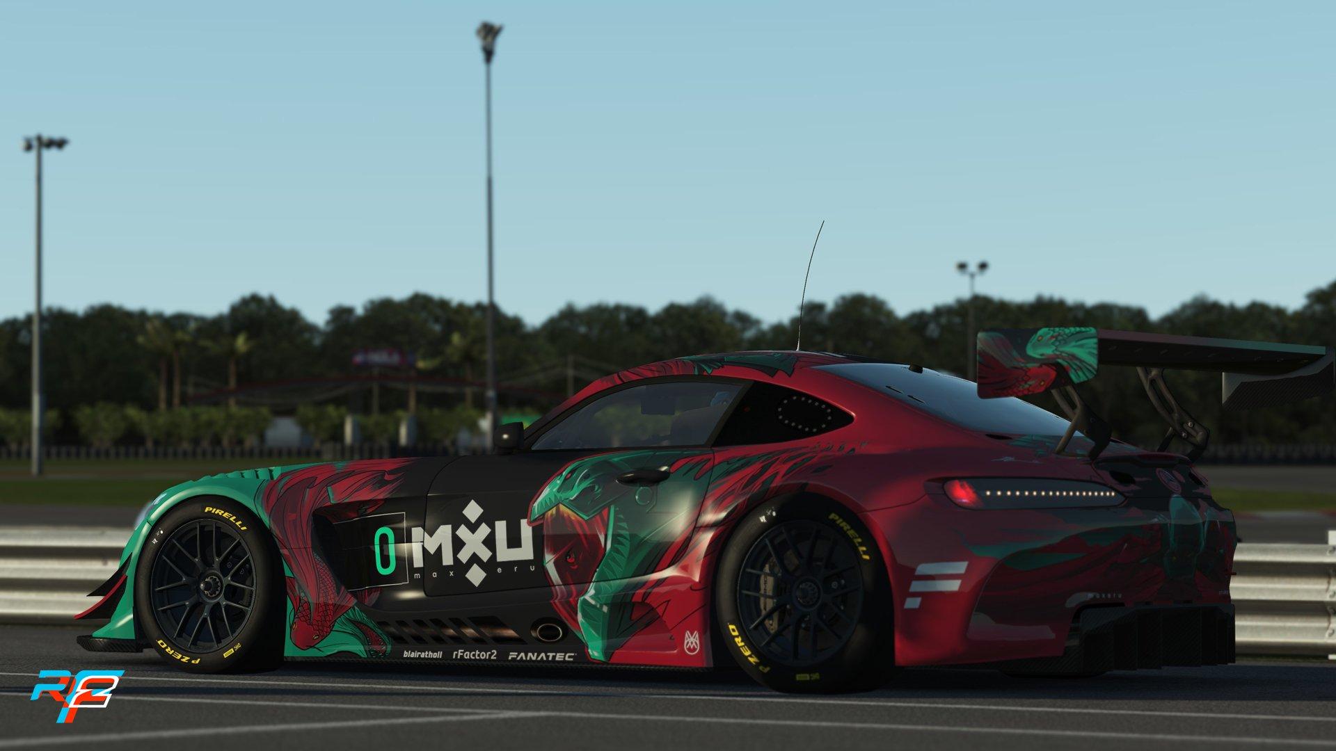 rFactor 2 Mercedes AMG GT3