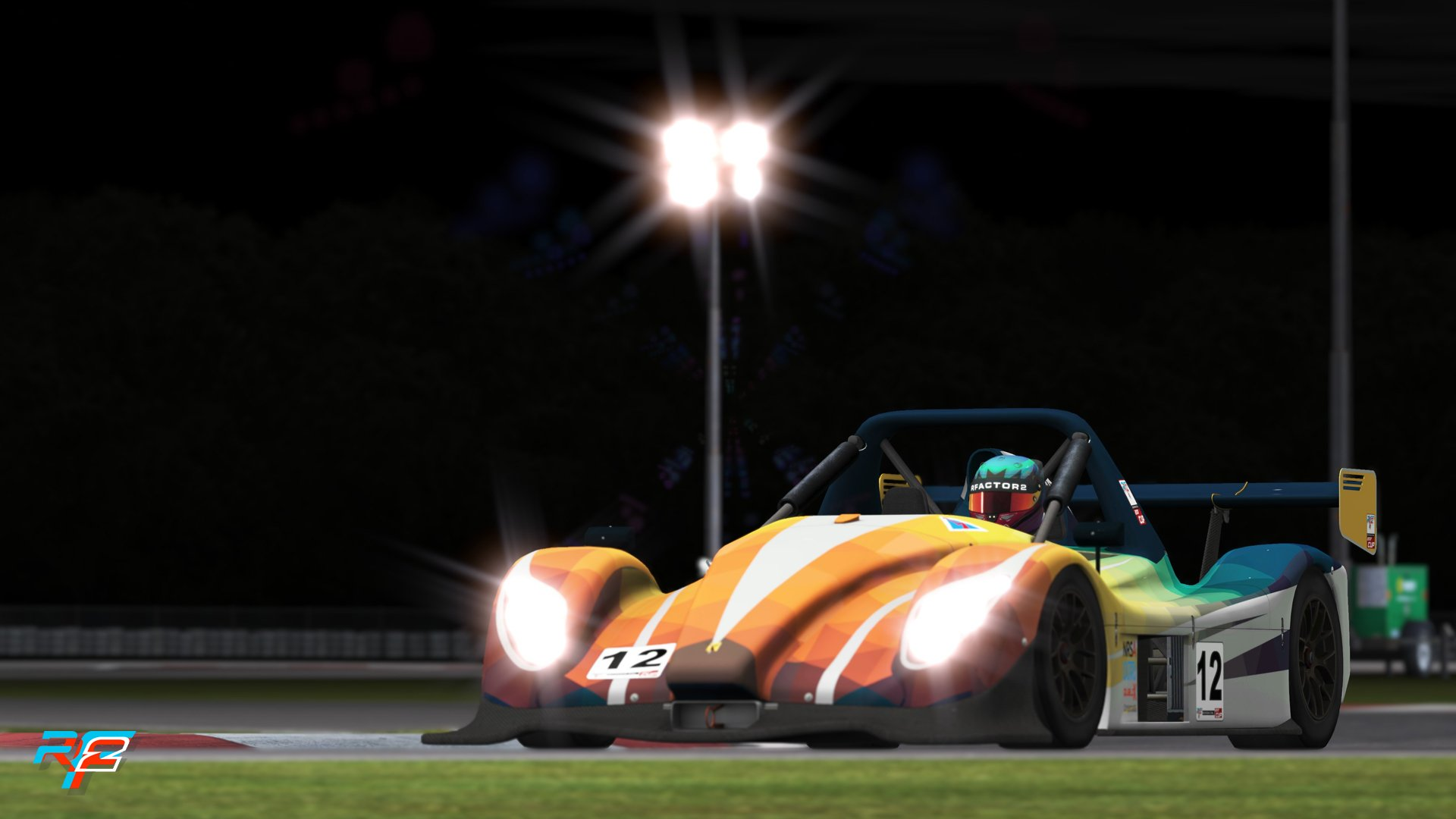 rFactor 2 Radical SR3 night