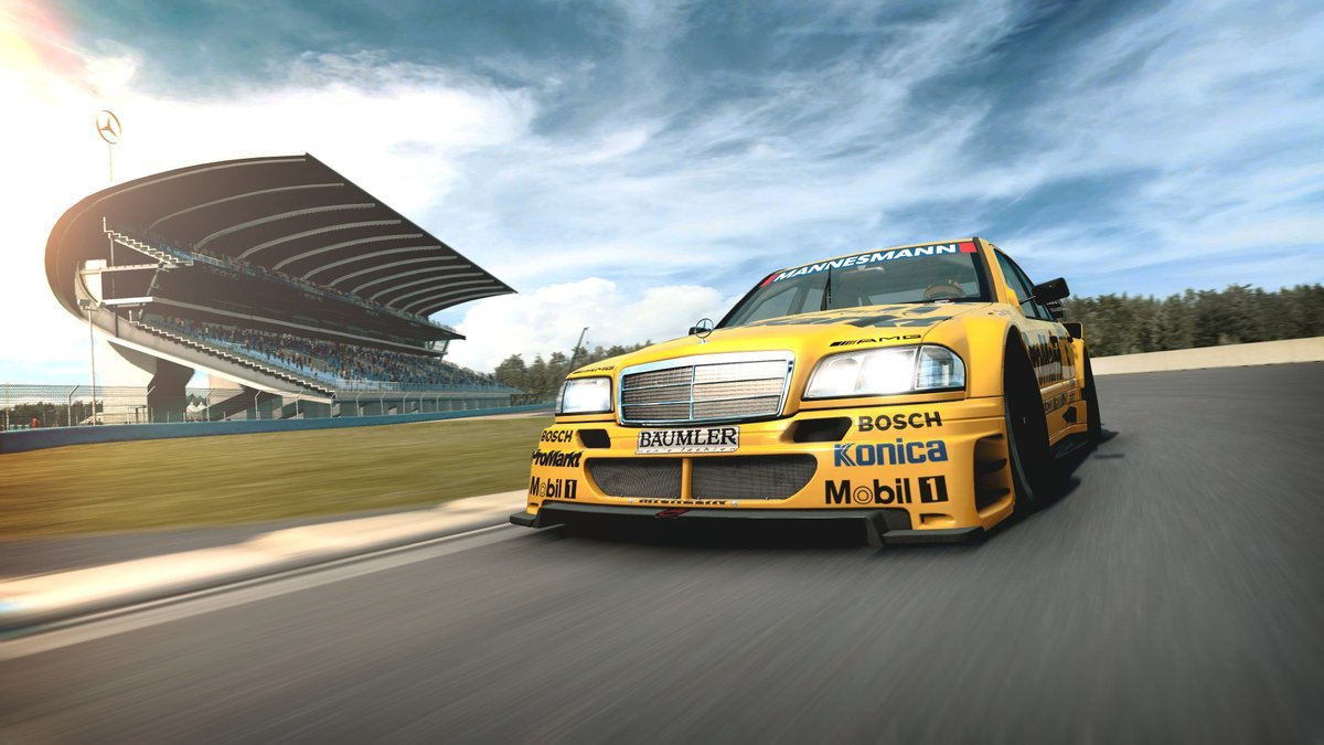 AMG-Mercedes C-Klasse DTM 1995 2