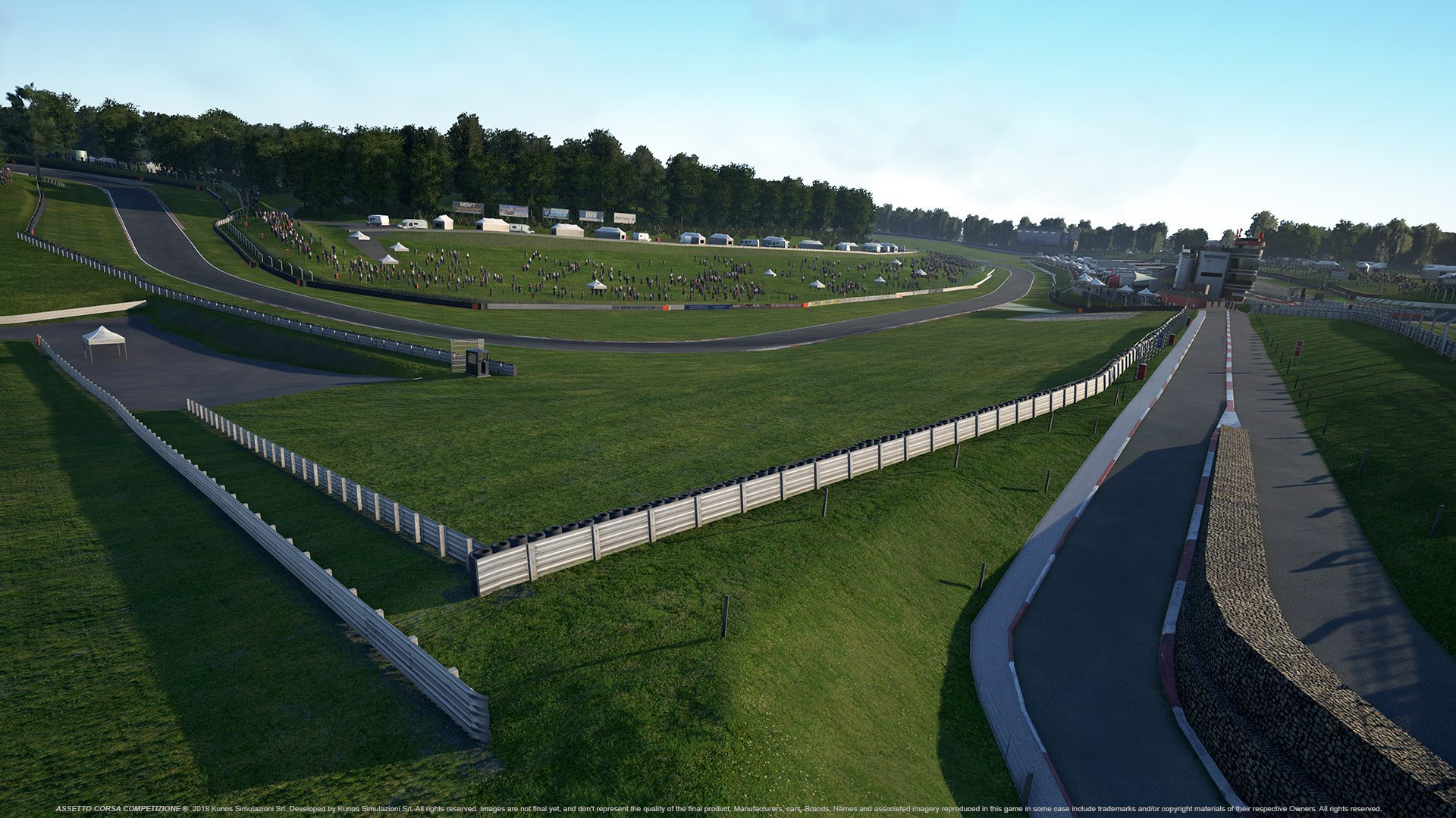Assetto Corsa Competizione Brands Hatch Remastered May Preview 3