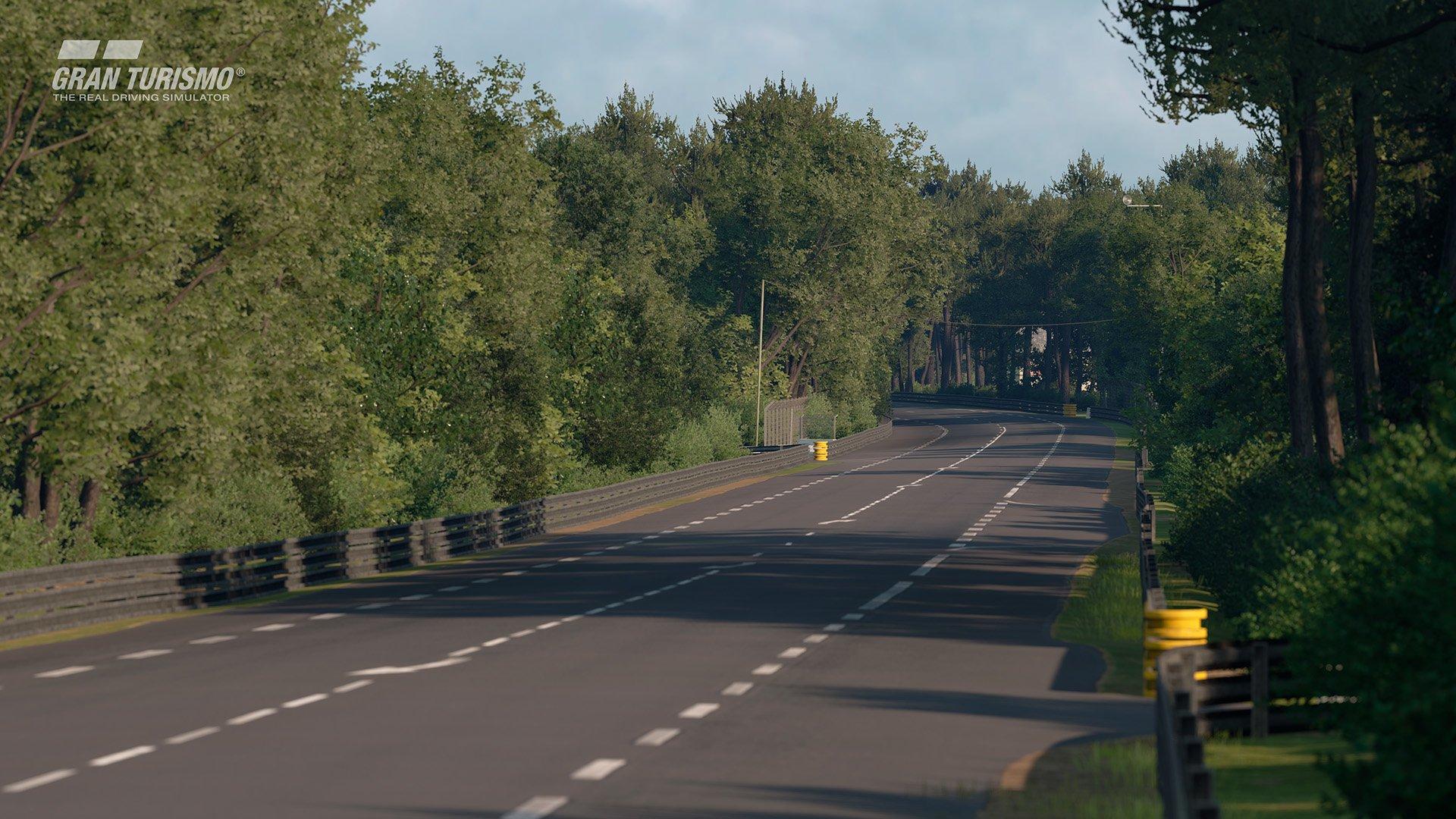 Gran Turismo Sport May update 'Circuit de la Sarthe' (With Chicane : No Chicane) 1