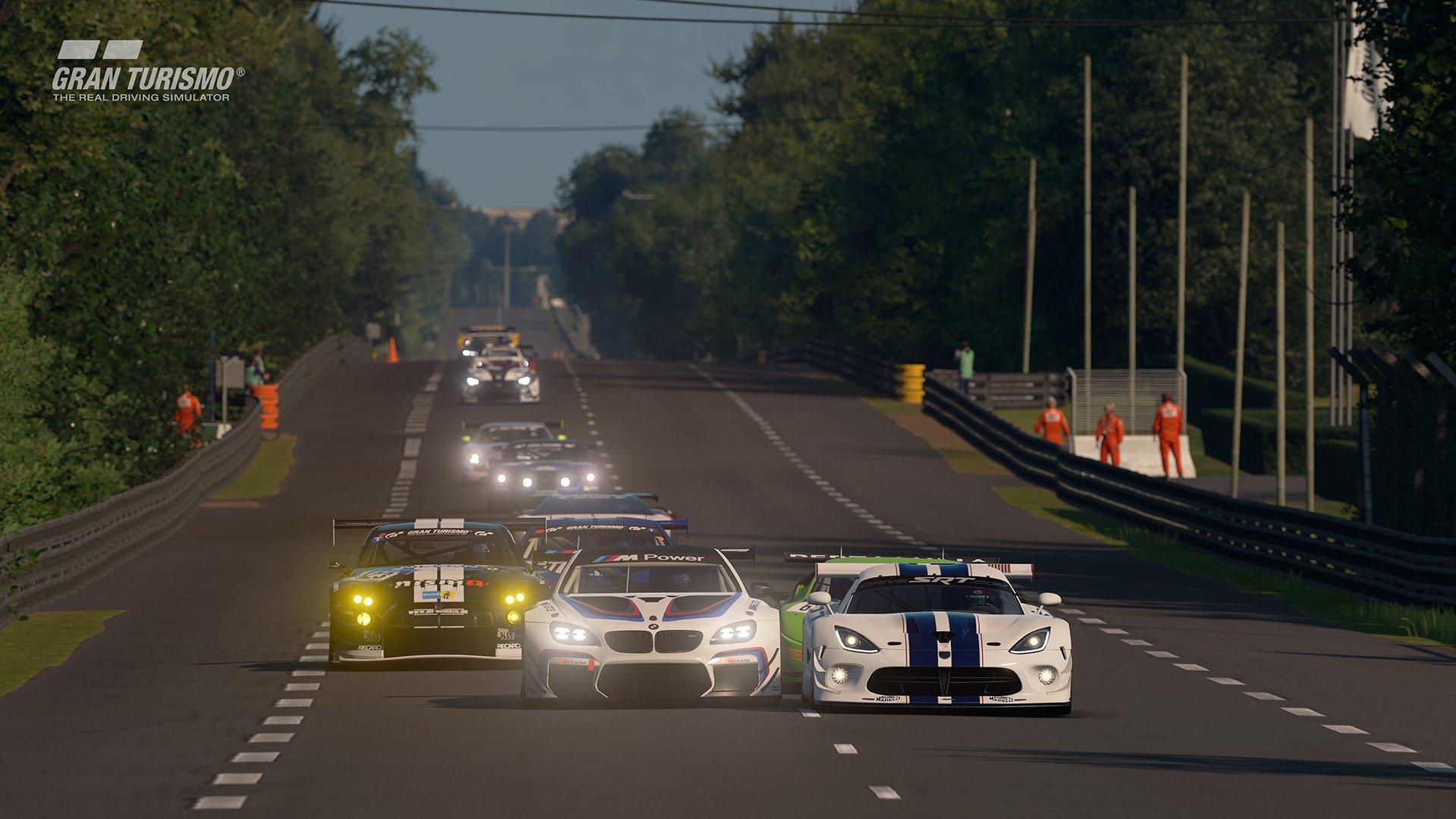 Gran Turismo Sport May update 'Circuit de la Sarthe' (With Chicane : No Chicane) 2