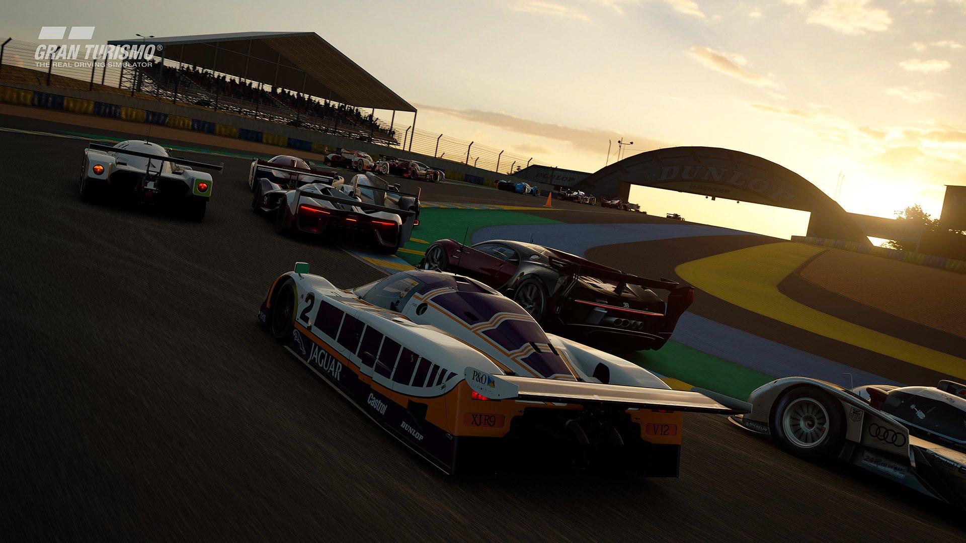 Gran Turismo Sport May update 'Circuit de la Sarthe' (With Chicane : No Chicane) 3