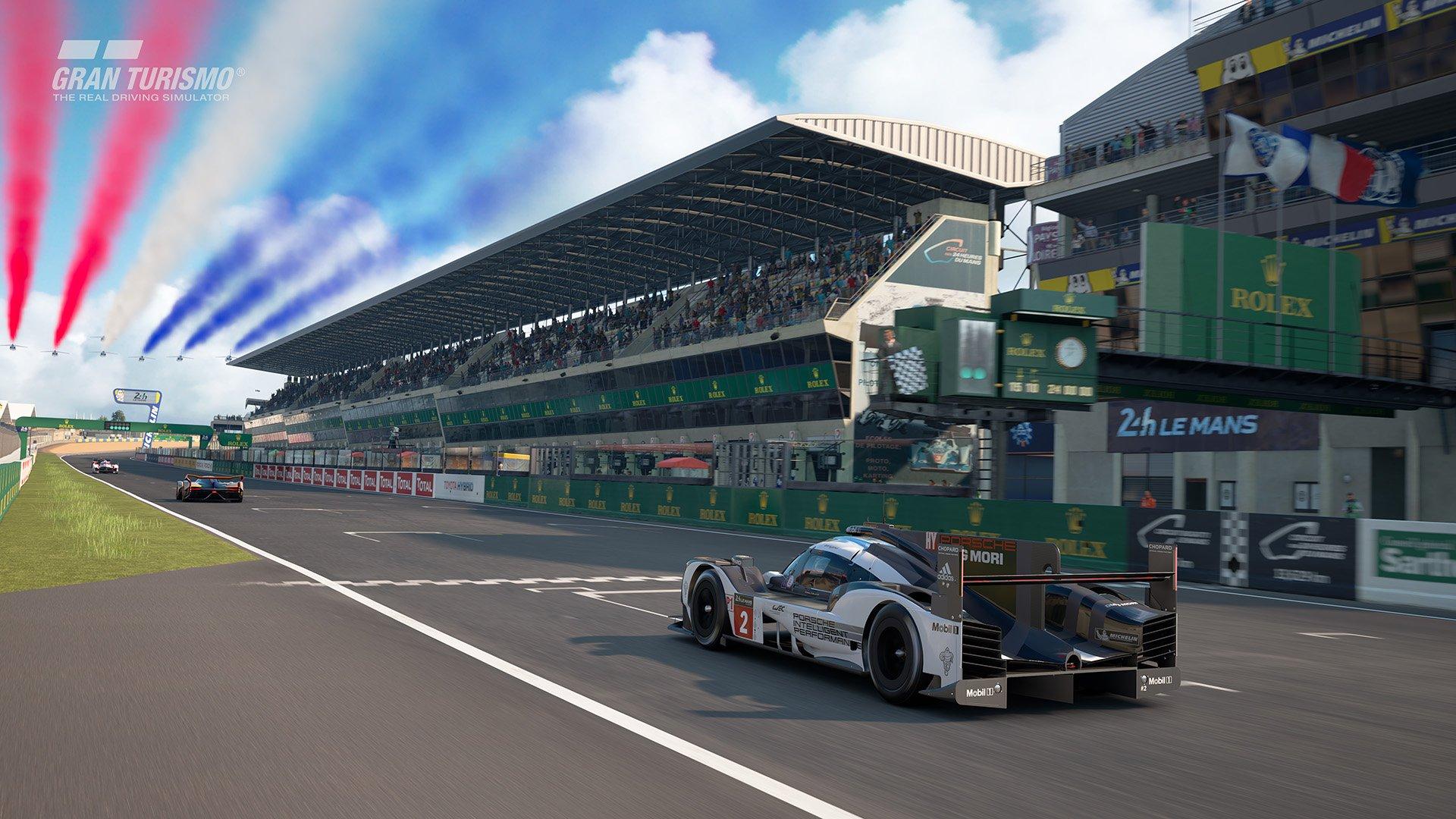 Gran Turismo Sport May update 'Circuit de la Sarthe' (With Chicane : No Chicane) 4