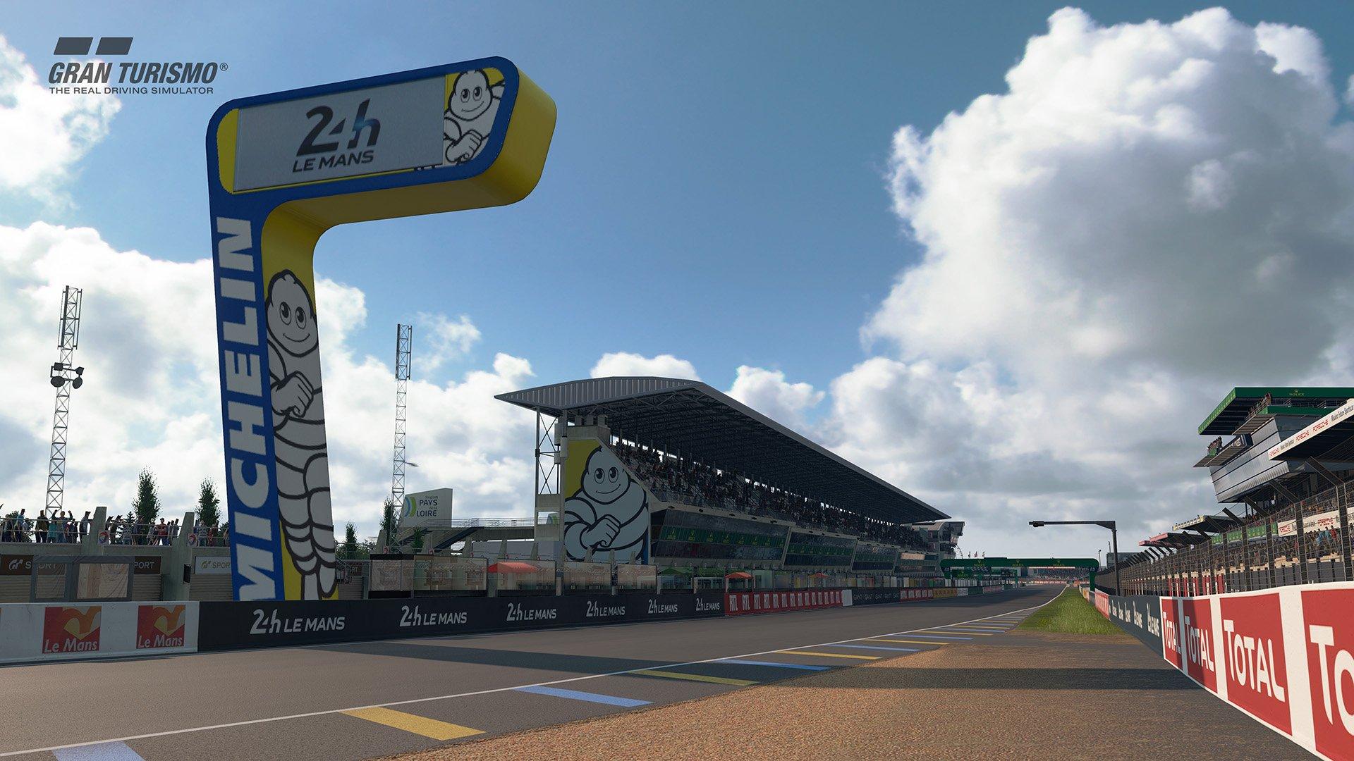 Gran Turismo Sport May update 'Circuit de la Sarthe' (With Chicane : No Chicane) 5