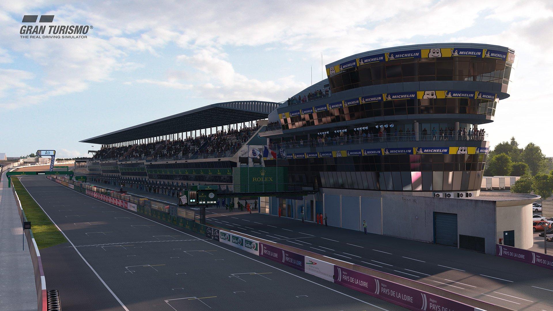 Gran Turismo Sport May update 'Circuit de la Sarthe' (With Chicane : No Chicane) 6