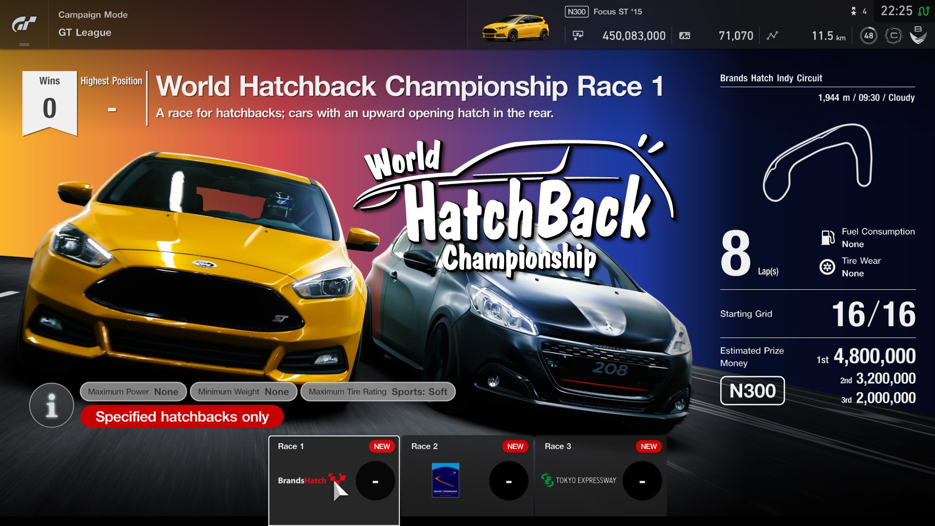 Gran Turismo Sport May update GT League event 2
