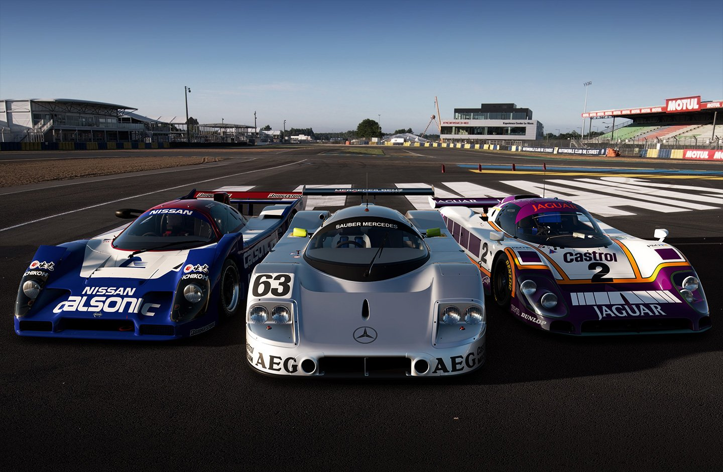 Gran Turismo Sport May update Group C cars