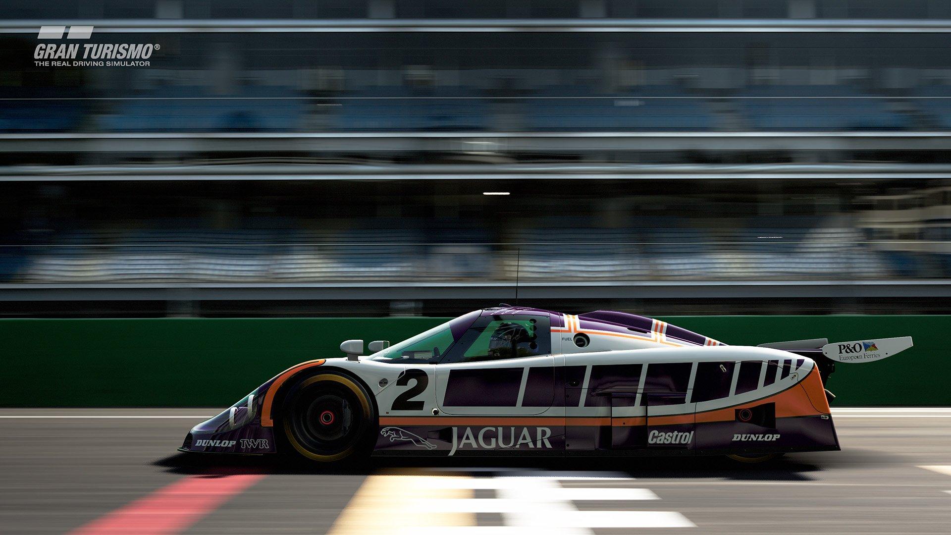 Gran Turismo Sport May update Jaguar XJR-9 '88 (Gr.1) 2