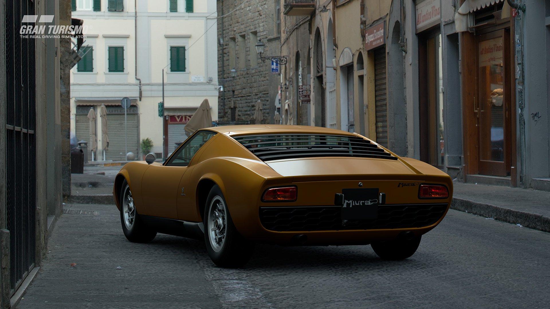 Gran Turismo Sport May update Lamborghini Miura P400 Bertone Prototype CN.0706 '67 (N400) 1