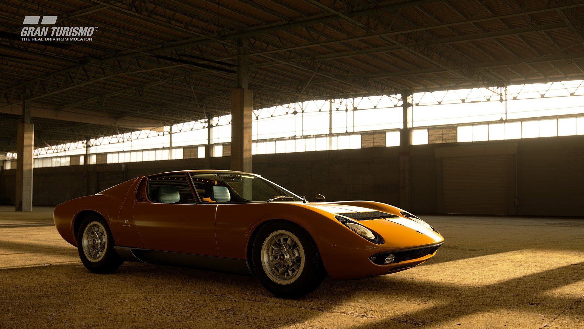 Gran Turismo Sport May update Lamborghini Miura P400 Bertone Prototype CN.0706 '67 (N400) 2