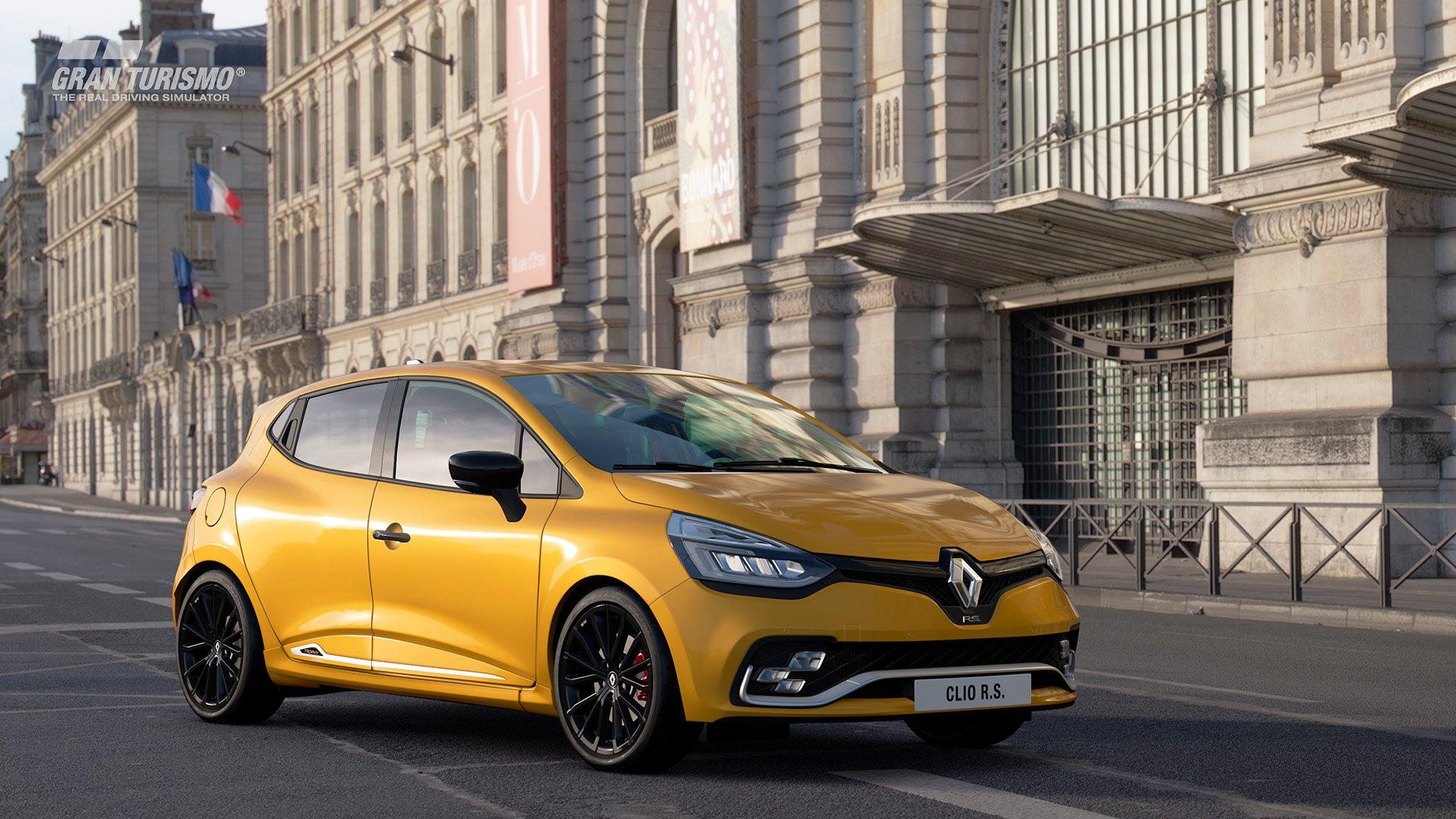 Gran Turismo Sport May update Renault Sport Clio R.S. 220 EDC Trophy '16 (N200) 2