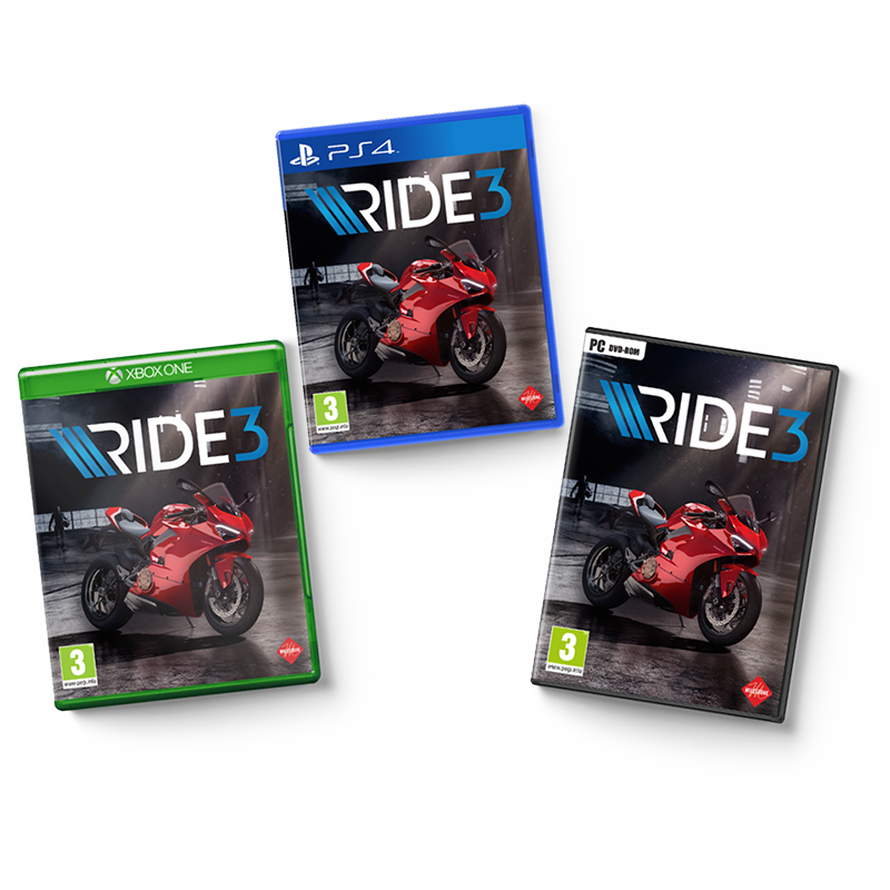 Ride 3 boxes