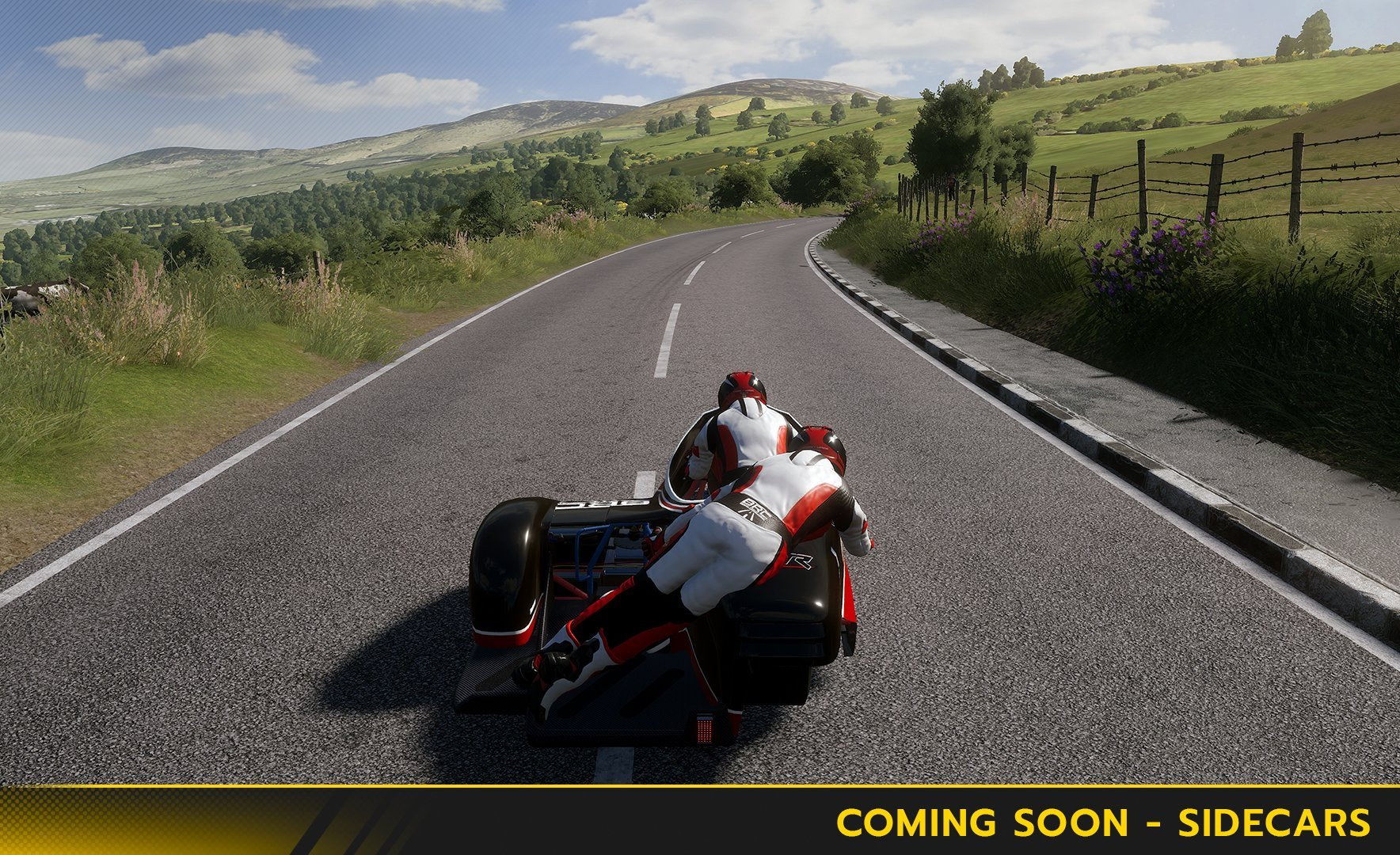 TT Isle of Man the Game sidecar expansion teaser