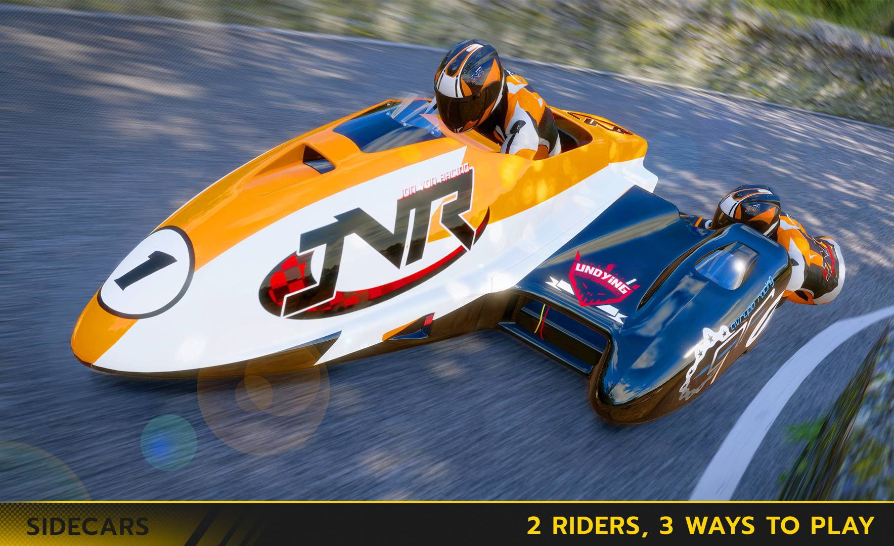 TT Isle of Man the Game sidecar preview