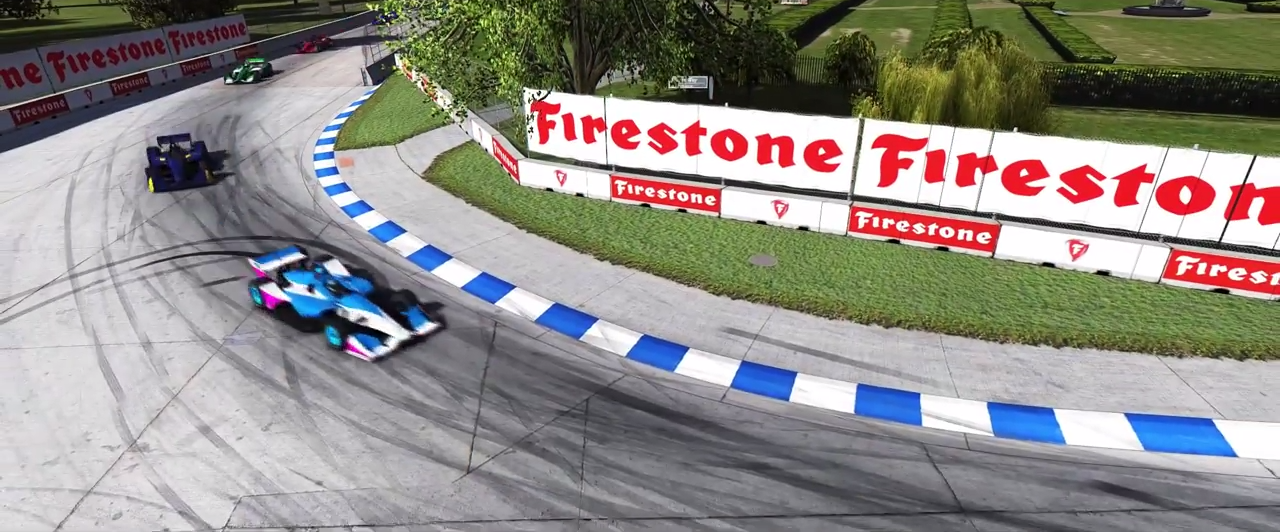 iRacing Belle Isle preview screenshot 1