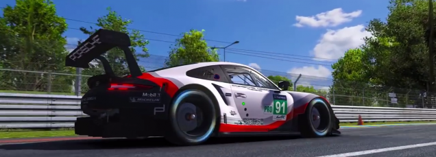 iRacing Porsche 911 RSR Screenshot 1