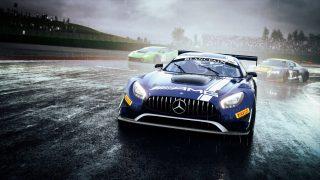 Assetto Corsa Competizione Mercedes AMG GT3 rain