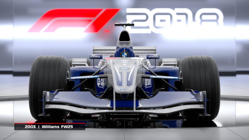 F1 2018 2003 Williams FW25