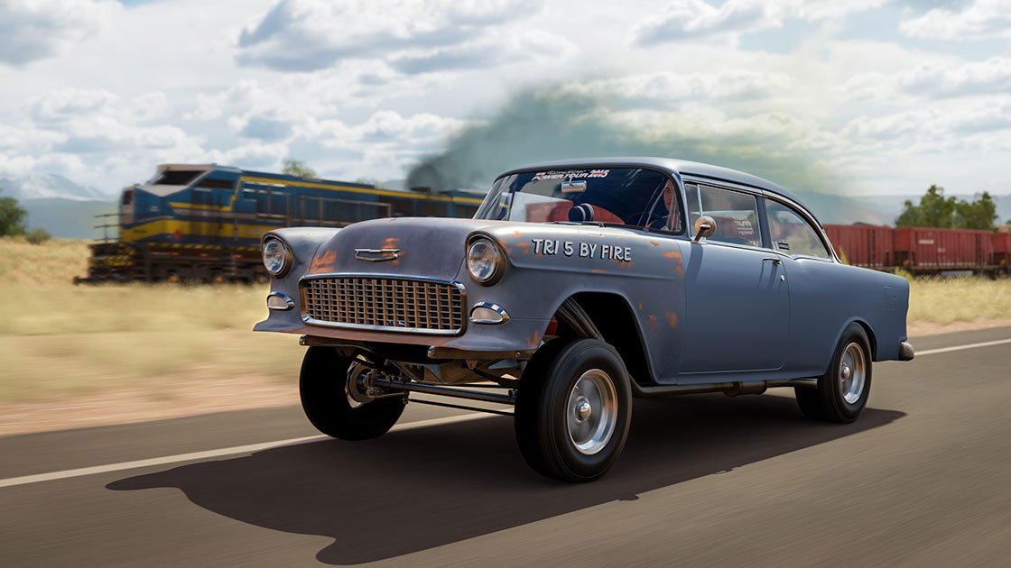 Forza Motorsport 7 June update 1955 Hoonigan Chevrolet Bel Air