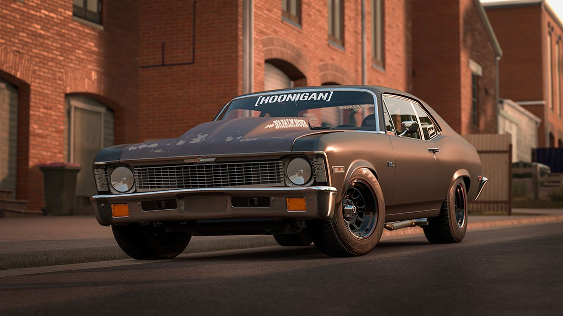 Forza Motorsport 7 June update 1972 Hoonigan Chevrolet Napalm Nova