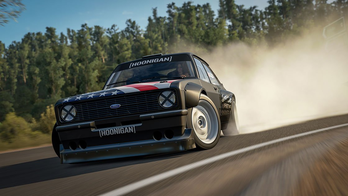 Forza Motorsport 7 June update 1978 Hoonigan Ford Escort RS1800