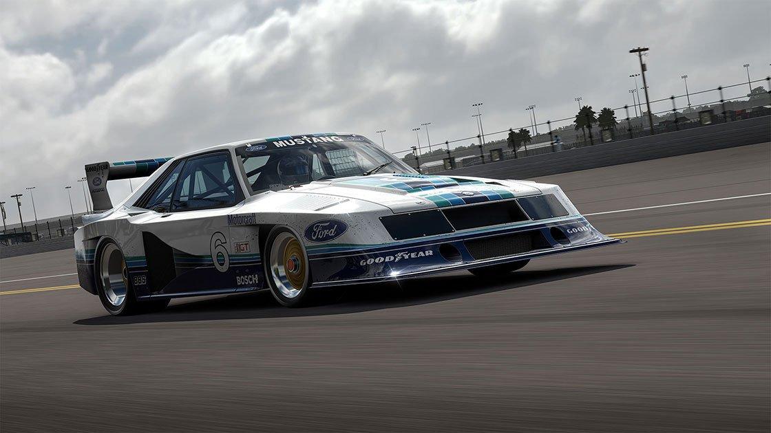 Forza Motorsport 7 June update 1982 Ford #6 Zakspeed Roush Mustang IMSA GT