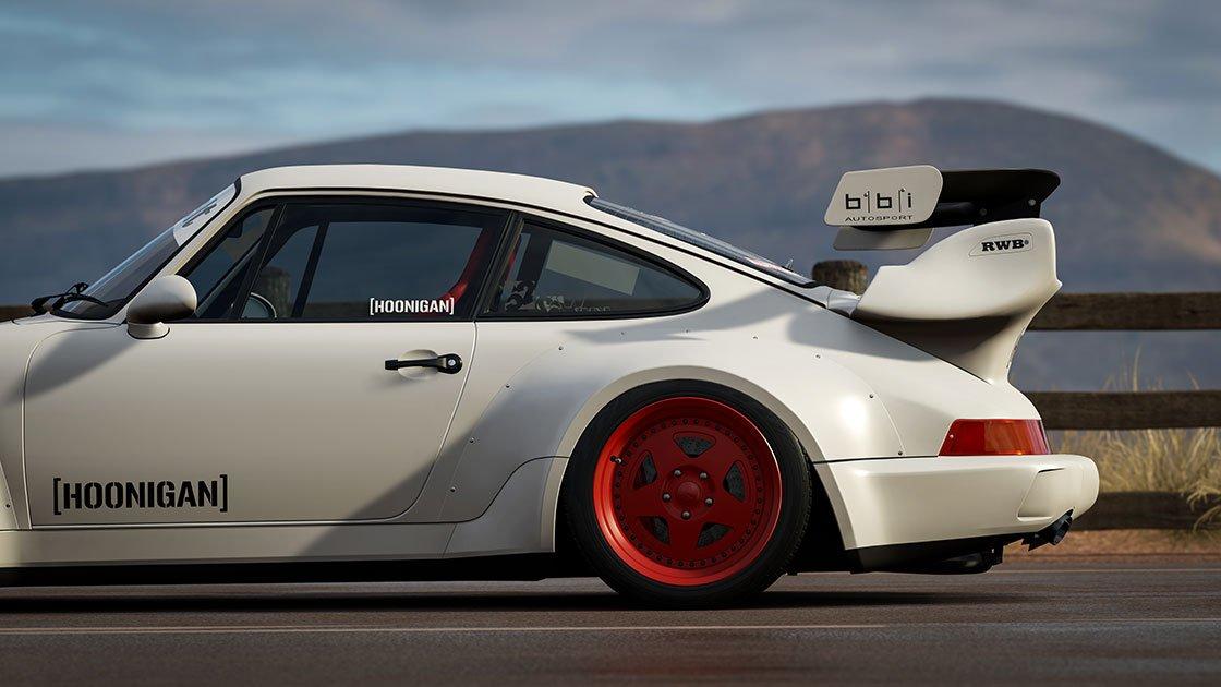 Forza Motorsport 7 June update 1991 Hoonigan Rauh-Welt Begriff Porsche 911 Turbo