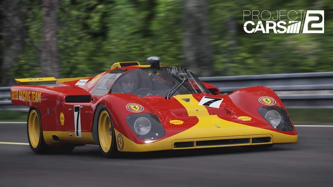 Project CARS 2 Spirt of Le Mans expansion Ferrari 512M 1