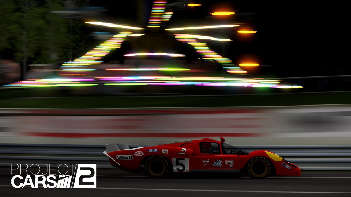 Project CARS 2 Spirt of Le Mans expansion Ferrari 512M 2