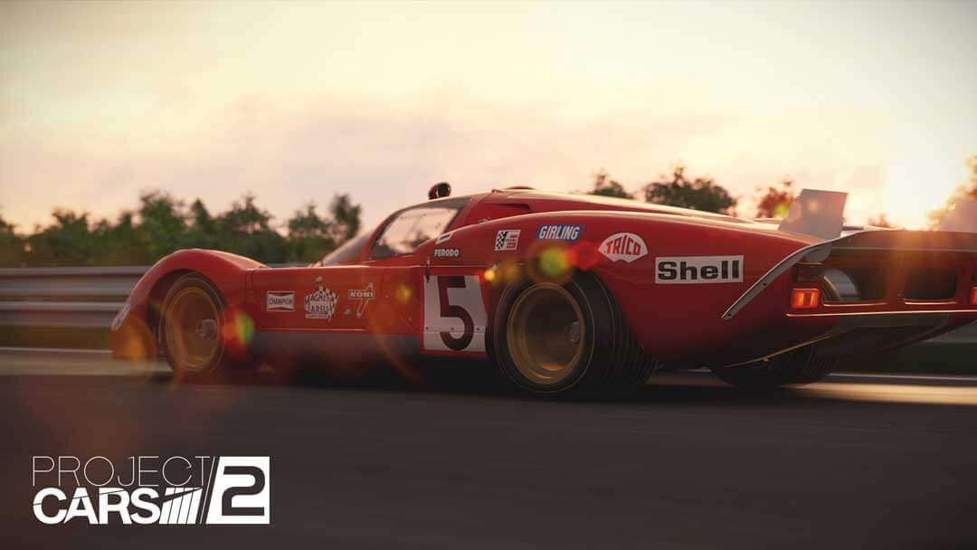 Project CARS 2 Spirt of Le Mans expansion Ferrari 512S 1