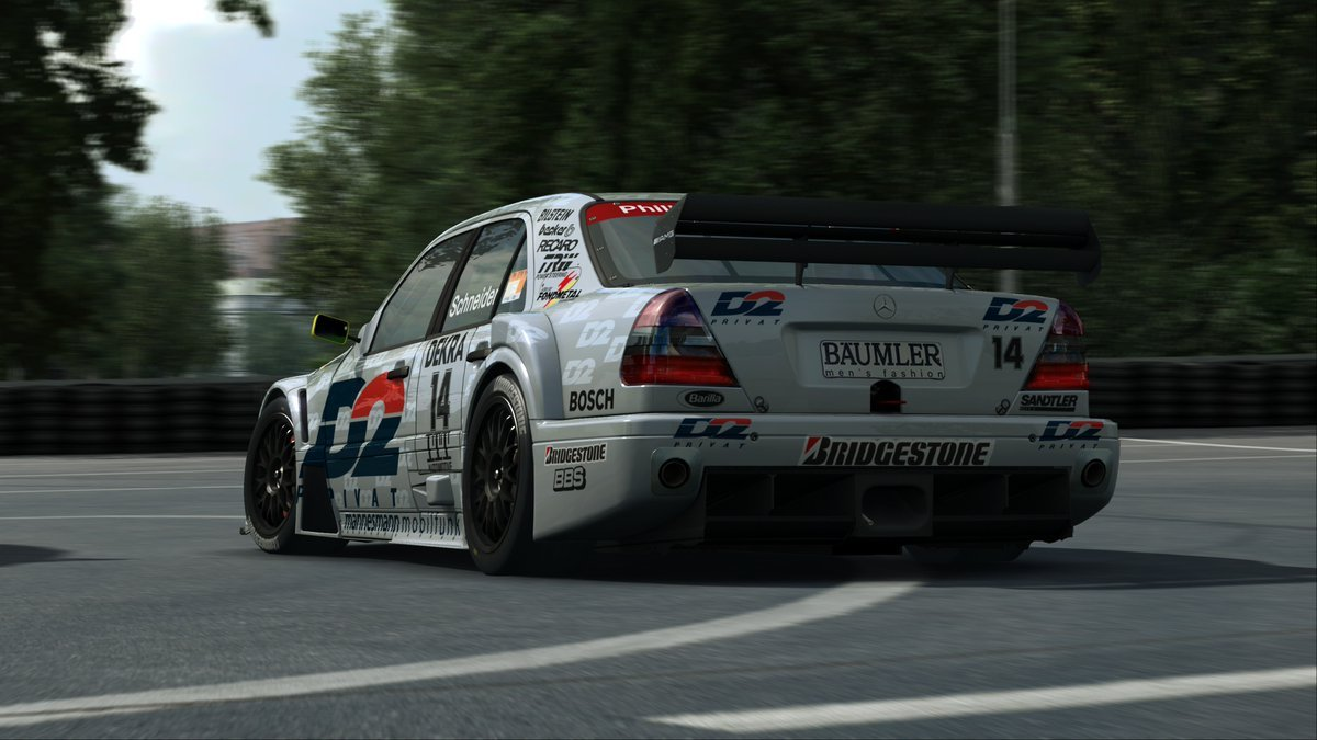 RaceRoom AMG-Mercedes C-Klasse DTM 1995 2